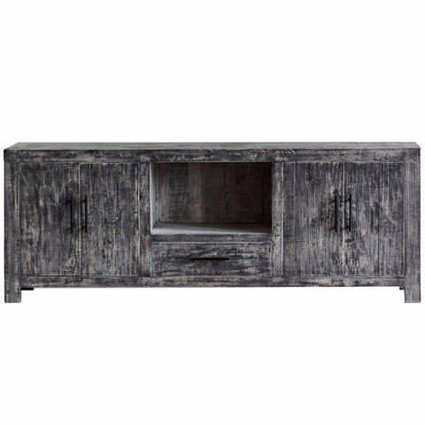 Reclaimed Elm Media Console, OG Finish