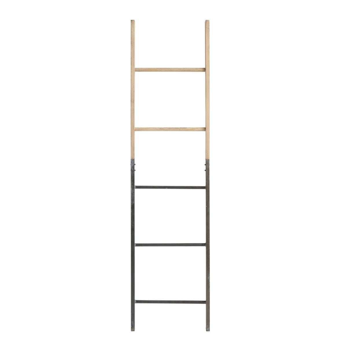 Decorative Metal & Wood Ladder