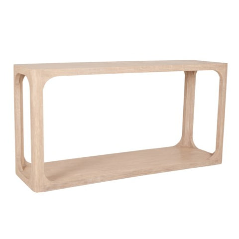 Archie Console Table, Beech Finish
