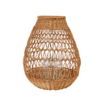 Round Building Wicker Open Weave