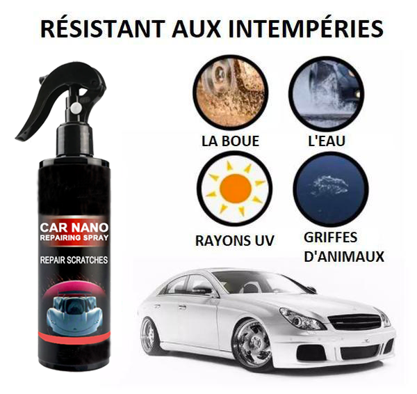 Spray anti-rayures - NanoTechnologies