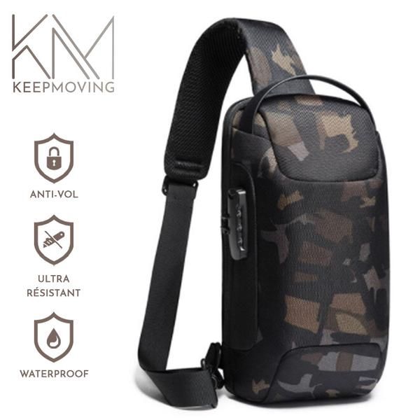 Sac Antivol & Waterproof Ultra-résistant