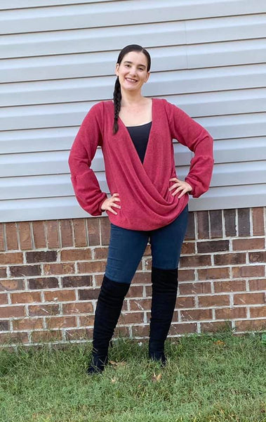 CINNAMON TOP PDF PATTERN