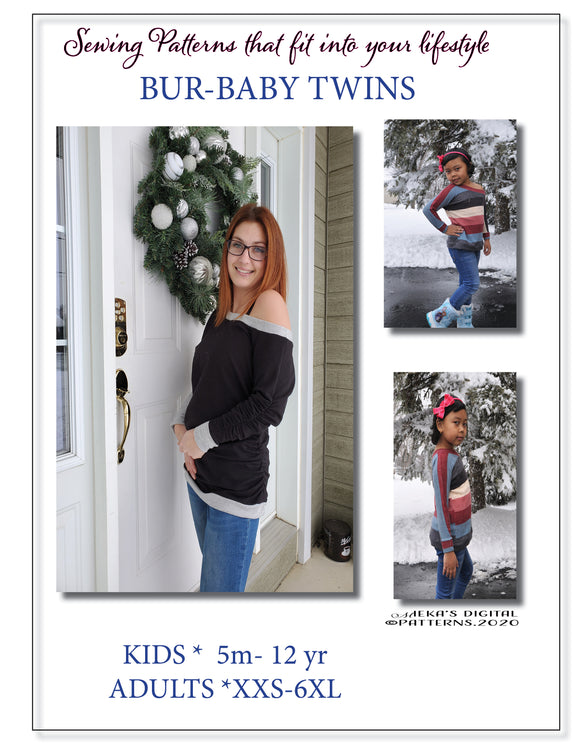 BUR-BABY BUNDLE PATTERN