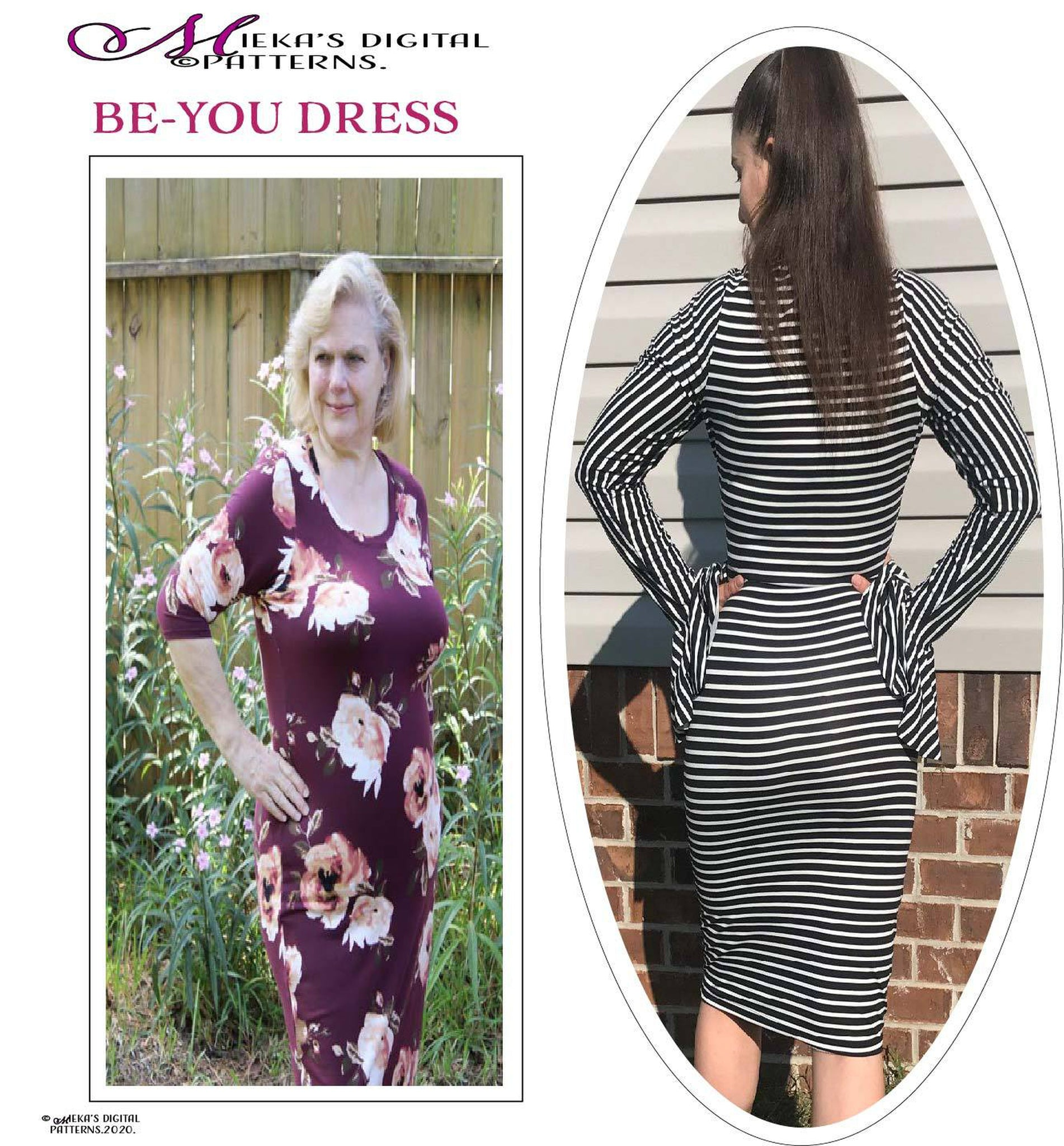BE-YOU PDF SEWING PATTERN