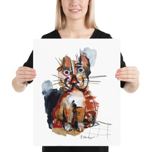 "Load image into Gallery viewer, ""Red Cat"" Print"