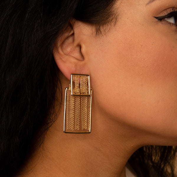 Block Chain Earring