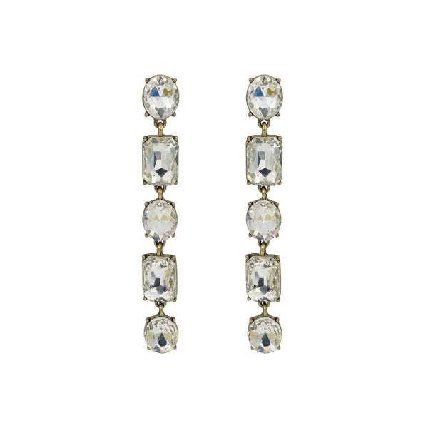 Laura Long Drop Earring