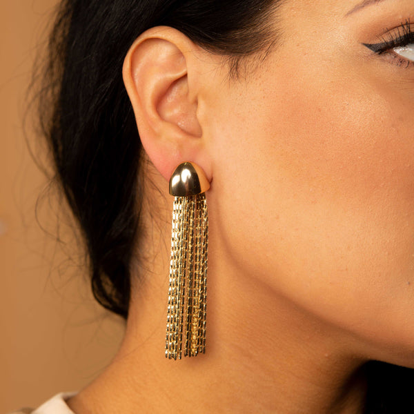 Octi Drop Earring