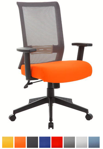 Source Task Chair (Orange)