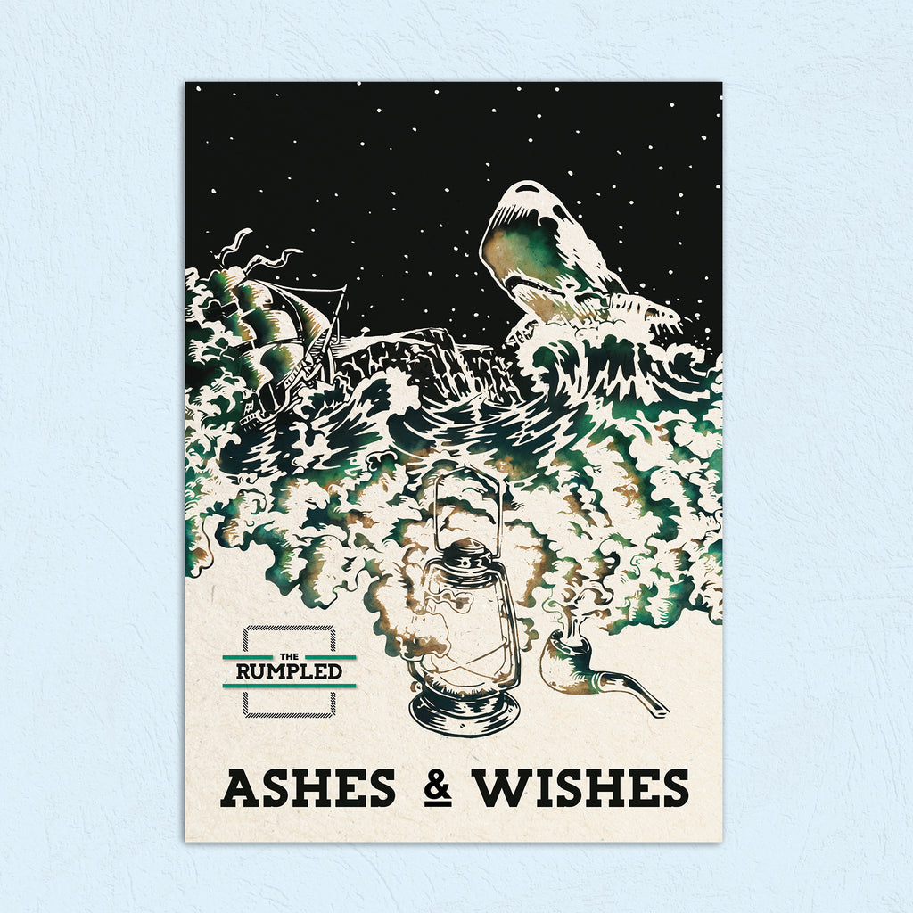 Ashes and Wishes Poster (A3)