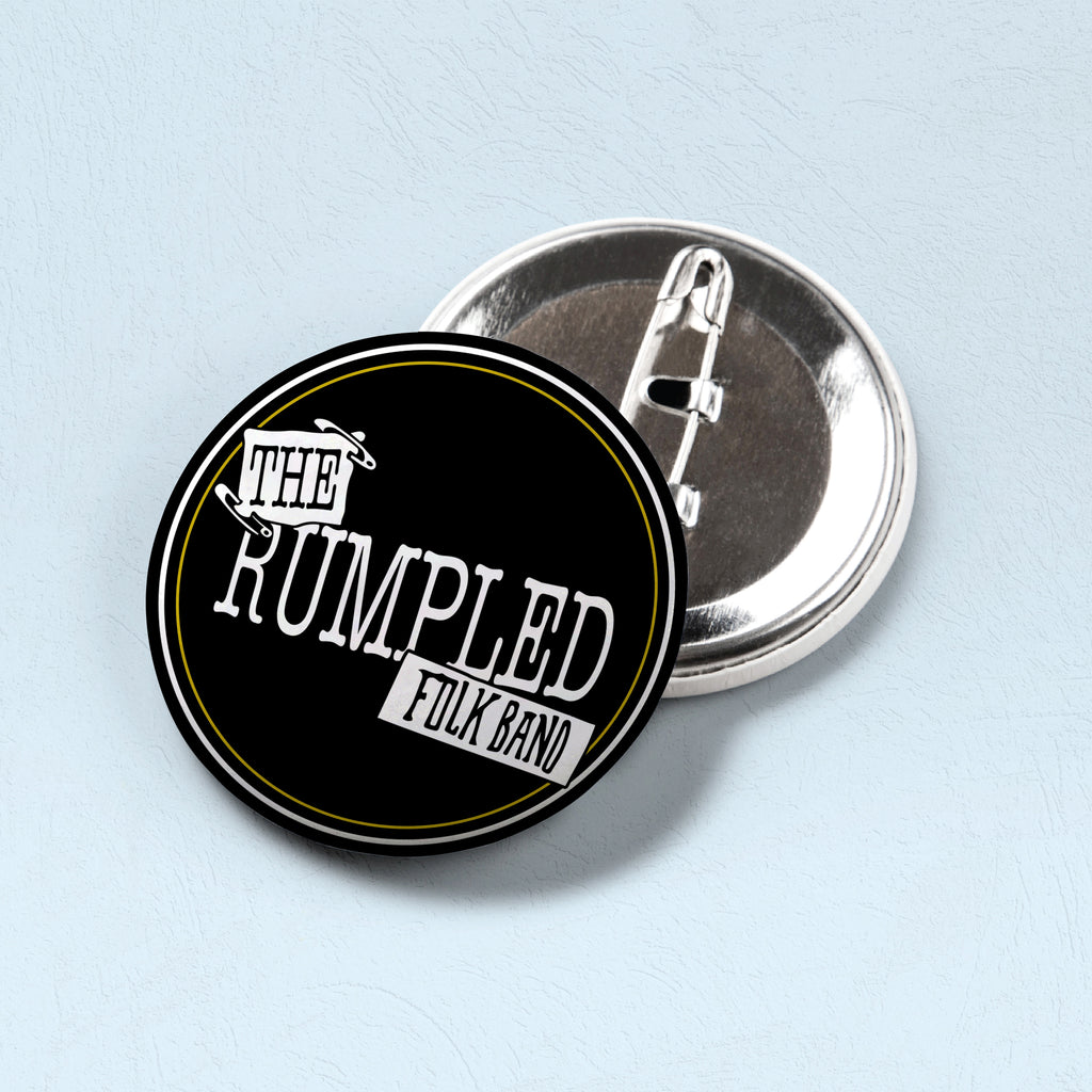 Rumpled Pin (Black)
