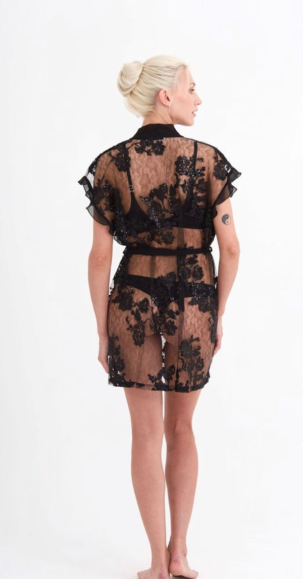 RY Charming Short Robe