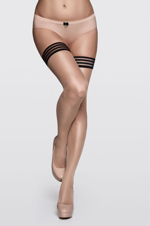 MD Ms Bows Stayup Stockings