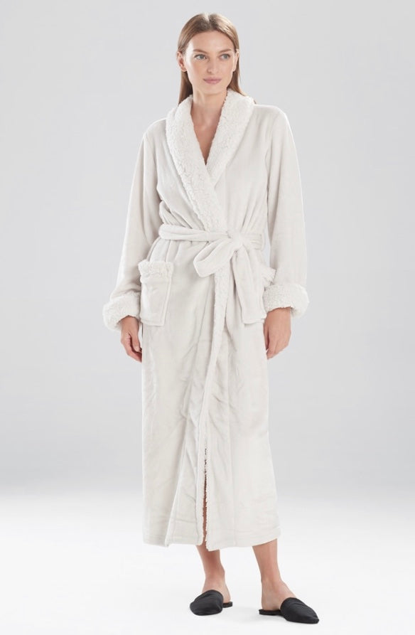 NAT Plush Wrap Robe