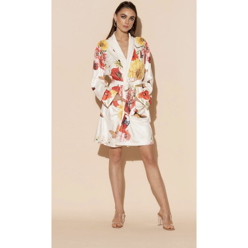 Wrap Up Bouquet Short Robe