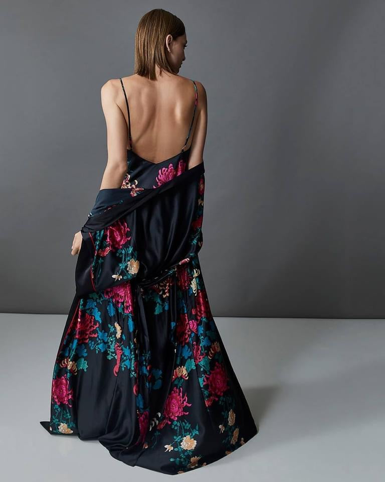 NAT Chrysanthemum Gown