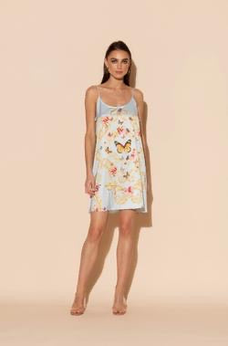 WU Short Butterfly Chemise