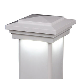 "4"" x 4"" Cape May Downward Low Voltage LED Light Post Cap (Box of 6)"