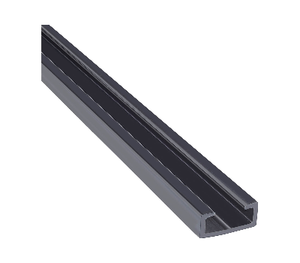 PVC Edge Channel for Large or Small Profile Edges