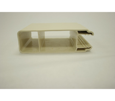 "White Slotted Rail 2"" x 6-1/2"" x 92"""