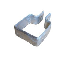 "3"" Galvanized Steel Square End Band"