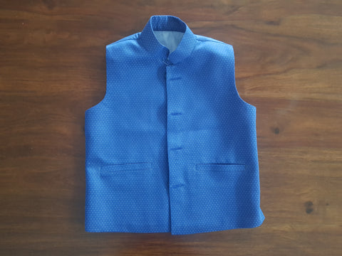 Blue Galaxy Cotton Wasket (Waist Coat)