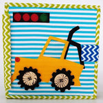 Monster Car -  6 Page Quiet Book | Age: 2-6 Years