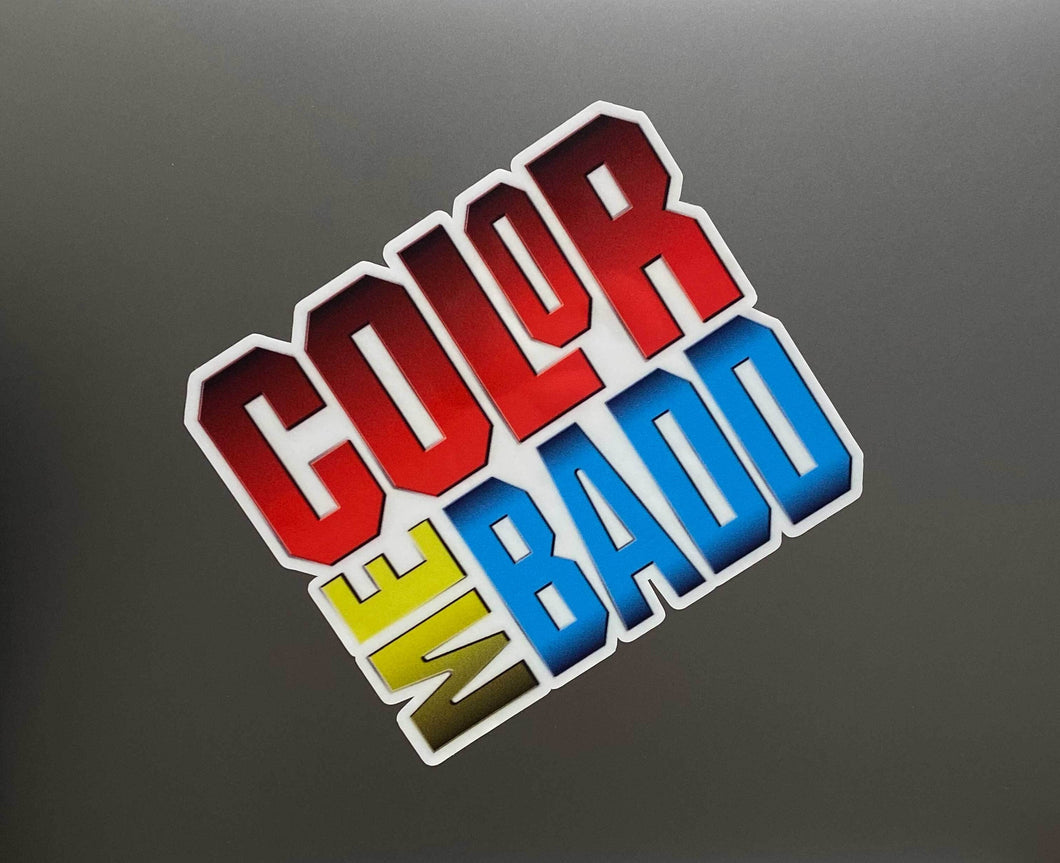 Color Me Badd Sticker