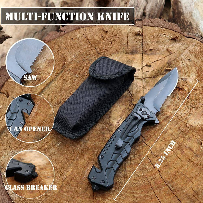 Survival Kit Set for Outdoor and Camping Knife