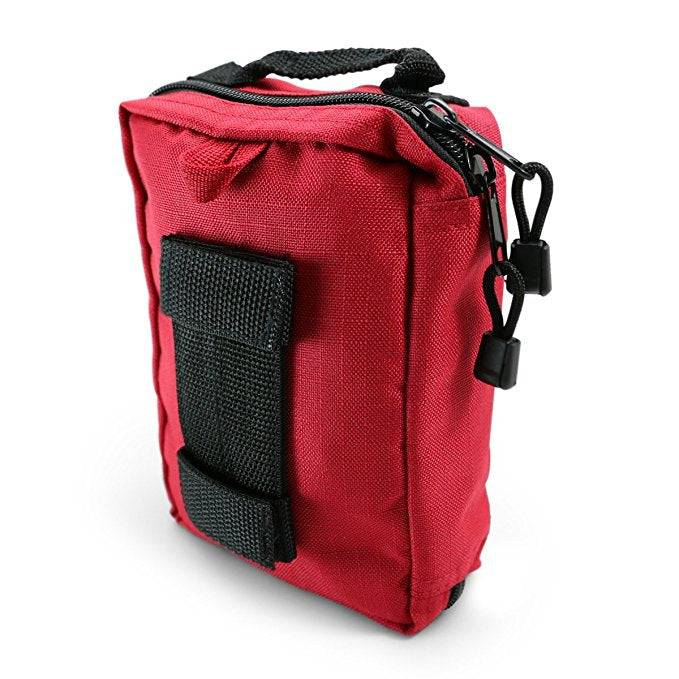Emergency Individual First Aid Kit back
