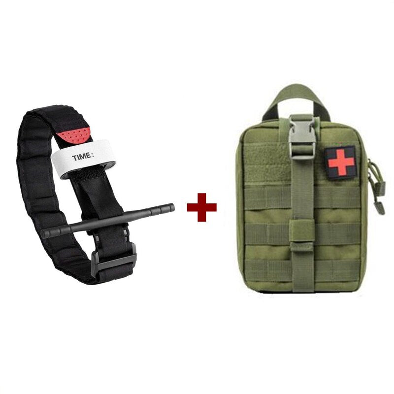 Combat Application Tourniquet with EMT Bag