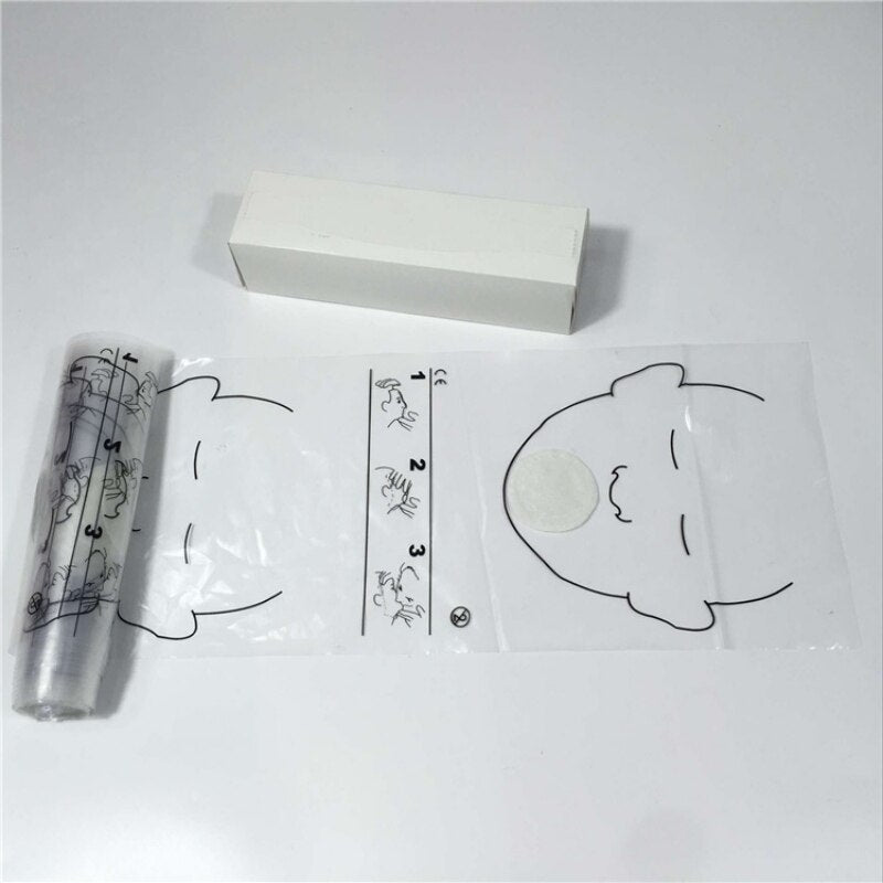 cpr disposable face shields 36 pcs / roll