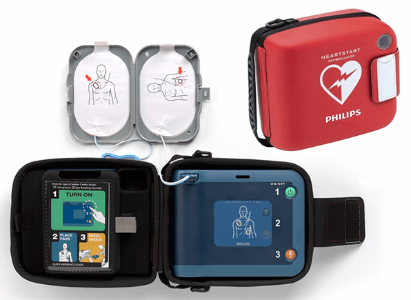 philips frx pads smart 2 with HEARTSTART FRx AED