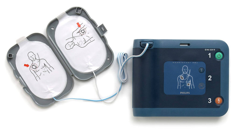 philips frx pads smart 2 connected to Heartstart FRx