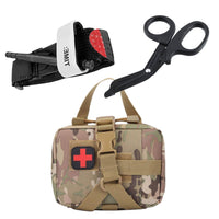 SmartKit® 3 in 1 Emergency Set - First Aid Pouch + Tourniquet + EMT Shears