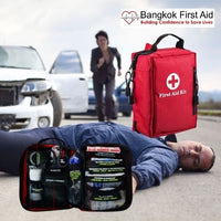 SmartKit® Compact Vehicle First Aid Kit | 2 Sections - 99 Pcs