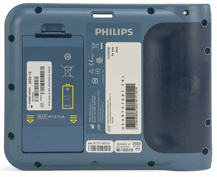 PHILIPS AED BATTERY BACK