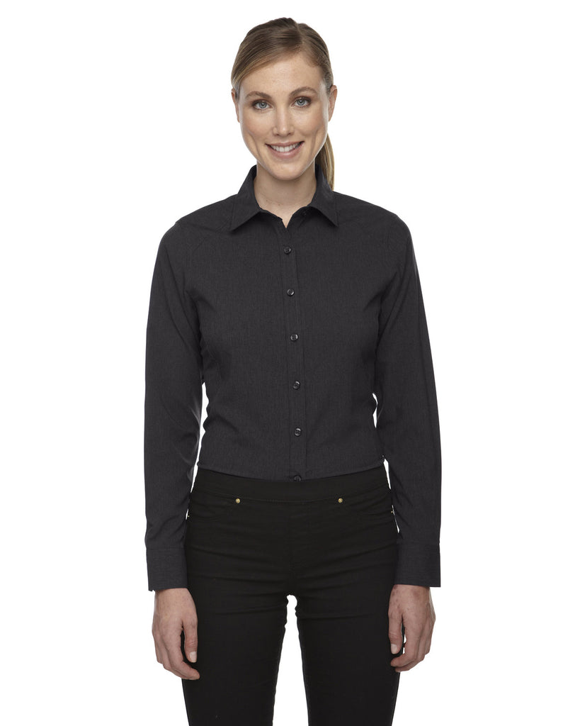 North-End-78802-Ladies' Mélange Performance Shirt