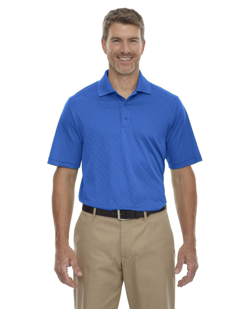 Extreme-85116-Men's Eperformance™ Stride Jacquard Polo