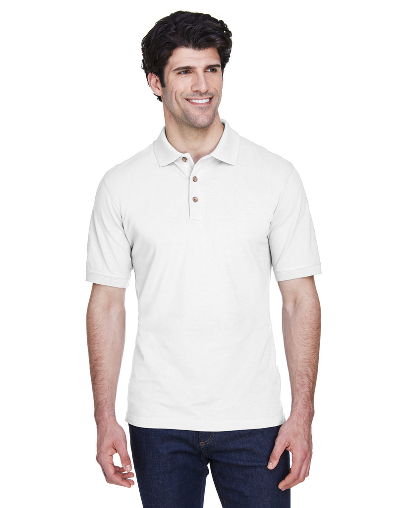 UltraClub 8535T Men's Tall Classic Piqu? Polo