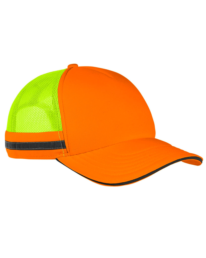 Big Accessories BA661 Safety Trucker Cap