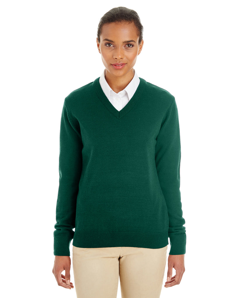 Harriton M420W Ladies' Pilbloc? V-Neck Sweater