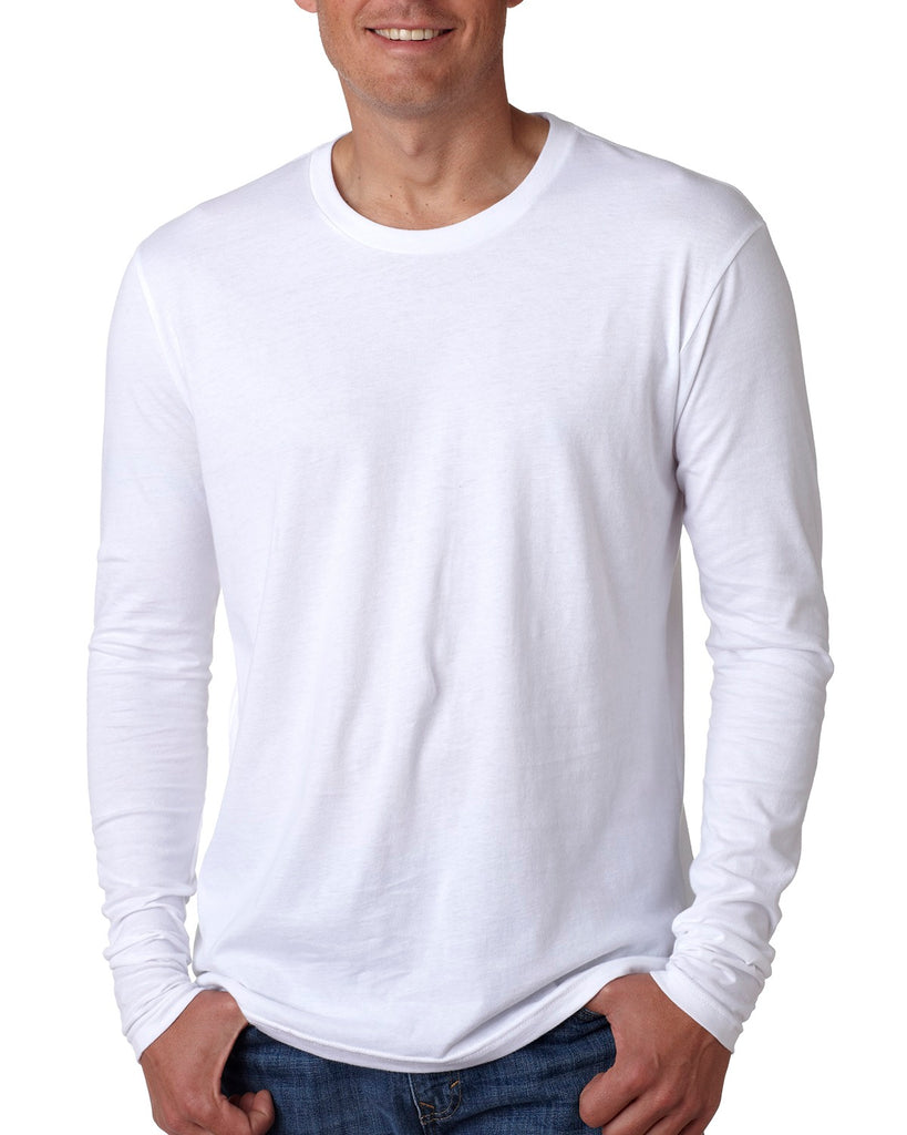 Next Level N3601 Men's Cotton Long-Sleeve Crew