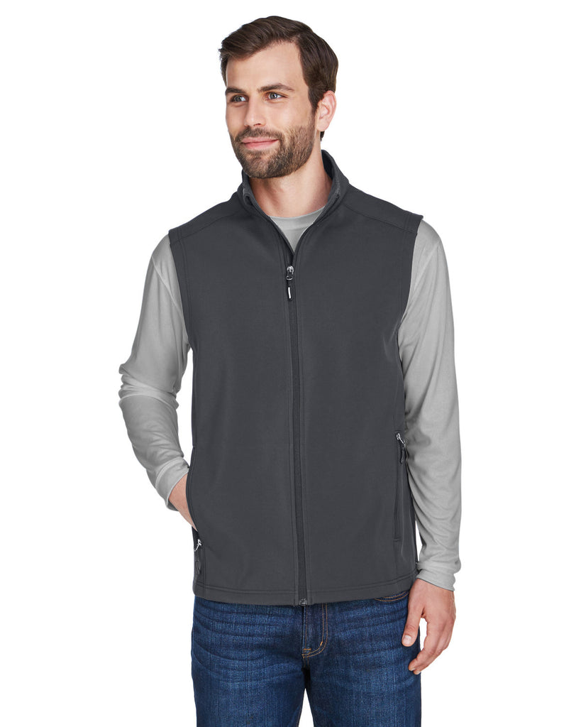 Core-365-CE701-Men's Cruise Two-Layer Fleece Bonded Soft Shell Vest