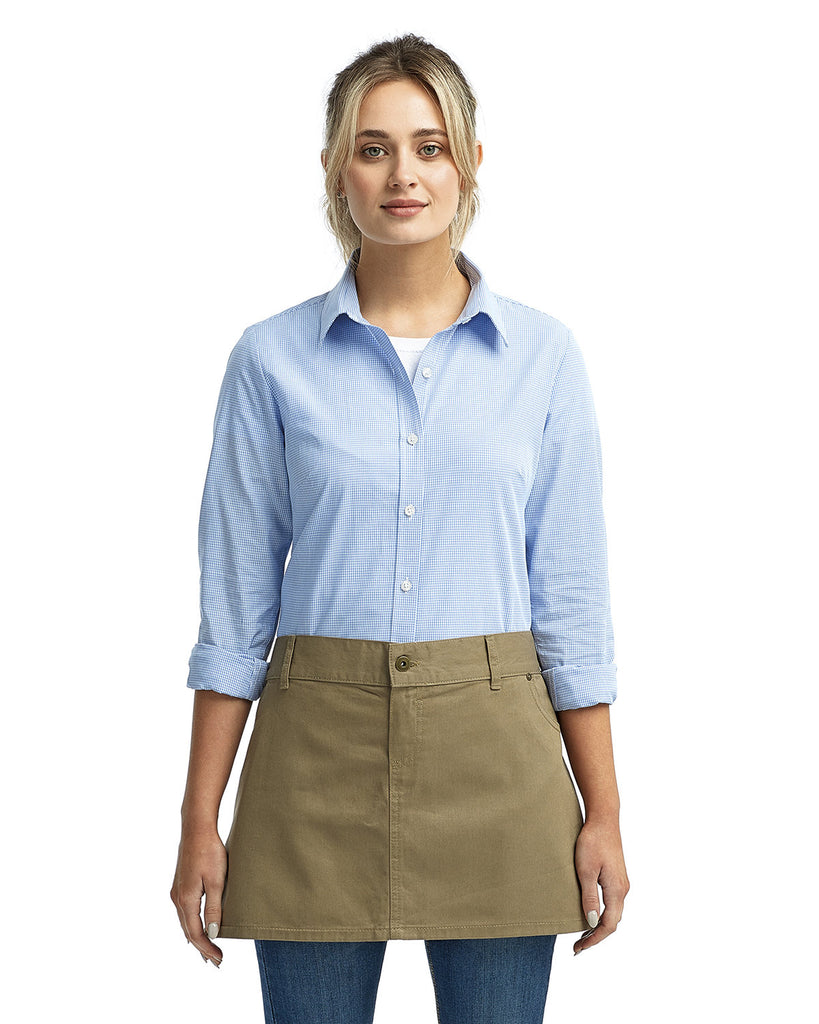 Artisan-Collection-by-Reprime-RP133-Unisex Cotton Chino Waist Apron