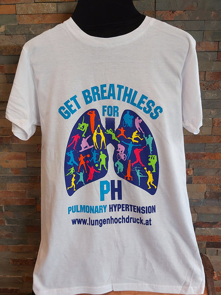T-Shirt Get Breathless for Pulmonary Hypertension Unisex