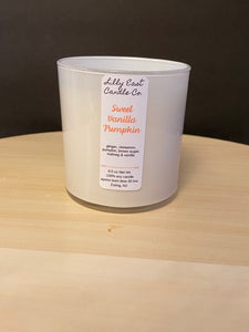 10oz White Jar Candle