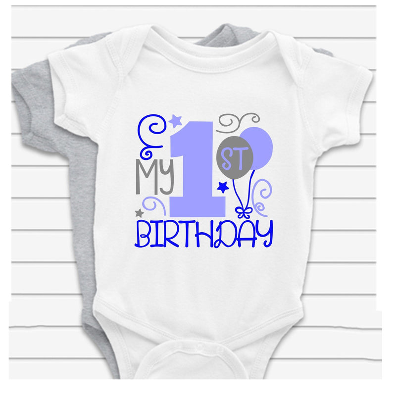 Gorgeous baby vest - Its my 1st birthday