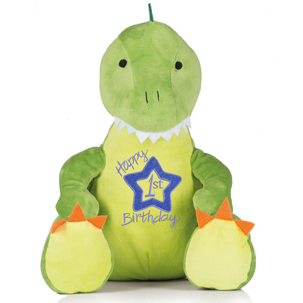 Gorgeous Personalised Dinosaur - 1st Birthday